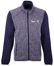 G-III Sports Men's Seattle Seahawks Alpine Zone Sweater Fleece Jacket