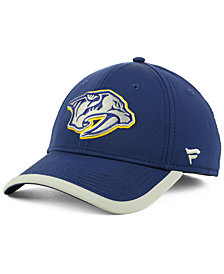 Authentic NHL Headwear Nashville Predators Clutch Speed Flex Cap