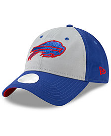 New Era Women's Buffalo Bills Gray Glitter 9TWENTY Cap