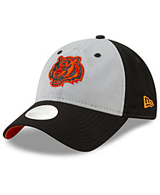 New Era Women's Cincinnati Bengals Gray Glitter 9TWENTY Cap