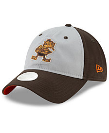 New Era Women's Cleveland Browns Gray Glitter 9TWENTY Cap