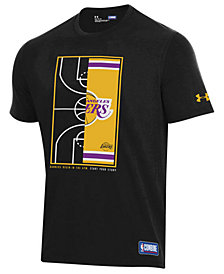 Under Armour Men's Los Angeles Lakers Banners Begin in the Gym T-Shirt