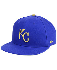 '47 Brand Boys' Kansas City Royals Basic Snapback Cap