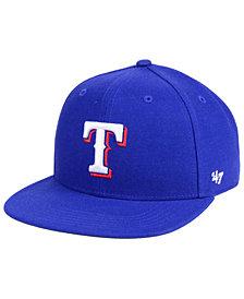 '47 Brand Boys' Texas Rangers Basic Snapback Cap