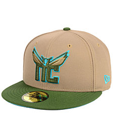 New Era Charlotte Hornets Fall 2 Tone Combo 59FIFTY-FITTED Cap