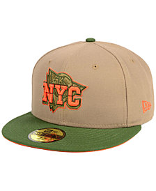 New Era New York Knicks Fall 2 Tone Combo 59FIFTY-FITTED Cap