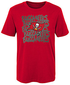 Outerstuff Tampa Bay Buccaneers Graph Repeat T-Shirt, Little Boys (4-7)
