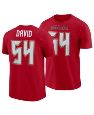 Nike Men's Lavonte David Tampa Bay Buccaneers Pride Name and Number Wordmark T-Shirt