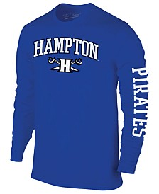 Colosseum Men's Hampton Pirates Midsize Slogan Long Sleeve T-Shirt