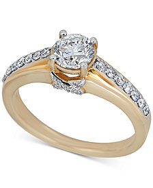 Diamond Engagement Ring (1-1/4 ct. t.w.) in 14k Gold