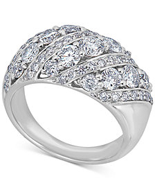 Diamond Dome Statement Ring (2-1/2 ct. t.w.) in 14k White Gold