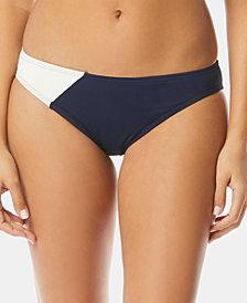 Vince Camuto Colorblocked Classic Bikini Bottoms