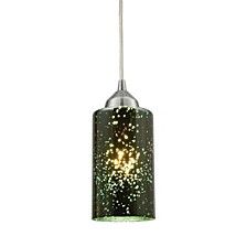 Illusions 1 Light Pendant in Polished Chrome