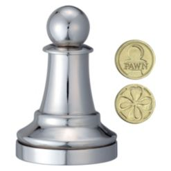 Hanayama Level 1 Cast Chess Puzzle - Pawn