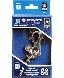 Hanayama Level 3 Cast Puzzle - Seahorse
