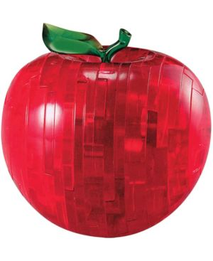 3D Crystal Puzzle - Apple (Red): 44 Pcs 7263367