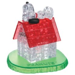 3D Crystal Puzzle - Peanuts Snoopy House