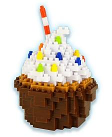 3D Pixel Puzzle - Cupcake