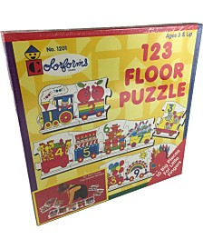 Colorforms 123 Floor Puzzle