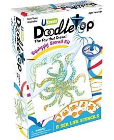 Doodletop Stencil Kit - Sea Life
