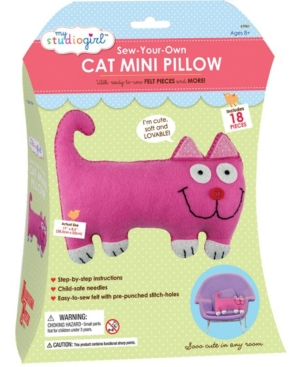 Sew-Your-Own Cat Mini Pillow