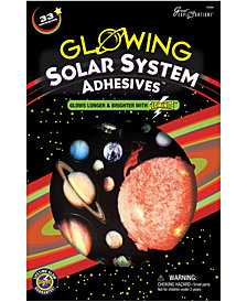 Glowing Solar System Adhesives