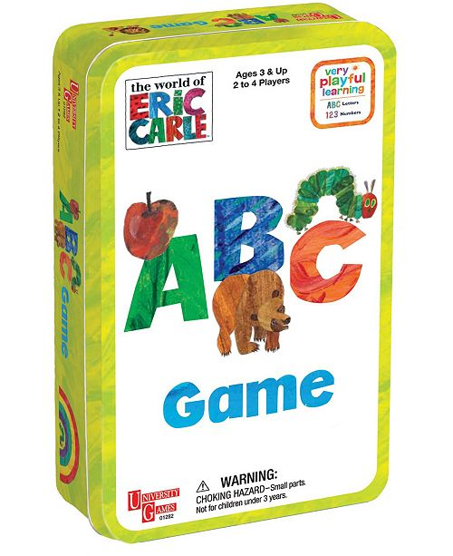 Areyougame The World of Eric Carle - ABC Game in a Tin