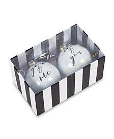 You & Me Ornament Set