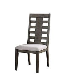 Demingham Paneled Back Dining Chair (Set of 2)