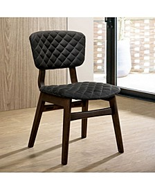 Jaykub Mid-Century Modern Dining Chair (Set of 2)