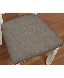 Rachel I Rustic Fabric Dining Chair (Set of 2)