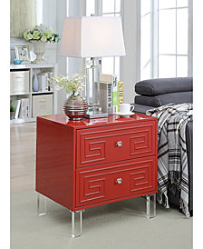 Genie Contemporary End Table