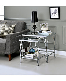 Janelle Contemporary Nesting End Table