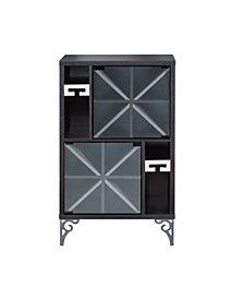 Aruba Glam Wine Cabinet
