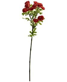 "17"" Japanese Flower Artificial Flower, Set of 8"