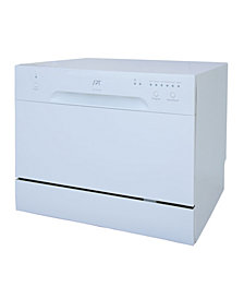 SPT Countertop Dishwasher in White
