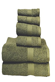 6 Piece Towel Set Ultra