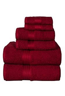 6 Piece Towel Set Majest