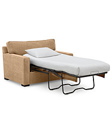 """Radley 54"""" Fabric Chair Bed - Custom Colors, Created by Macy's"""
