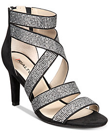 Rialto Revo Crisscross Evening Sandals