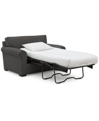 "Astra 59"" Fabric Chair Bed"