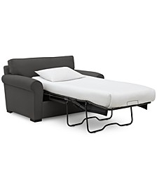 """Astra 59"""" Fabric Chair Bed, Created for Macy's"""
