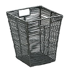 Coastal Collection Rolled Paper Rope Trash Bin