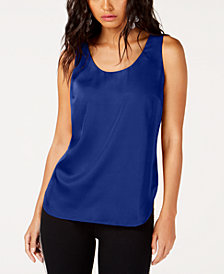 I.N.C. Scoop-Neck Tank Top, Created for Macy's
