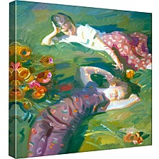 Girls Decorative Canvas Wall Art