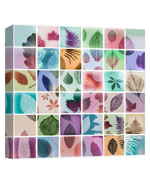 PTM Images Leaves Decorative Canvas Wall Art