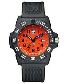 Men's 3509.SC.SET Scott Cassell Orange Dial Rubber Strap Watch