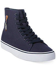Polo Ralph Lauren Men's Solomon High-Top Sneakers