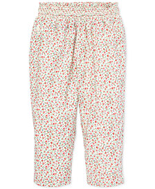 Polo Ralph Lauren Baby Girls Floral-Print Pants