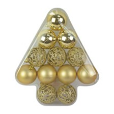 12 Pieces Christmas Tree Shape Ornament